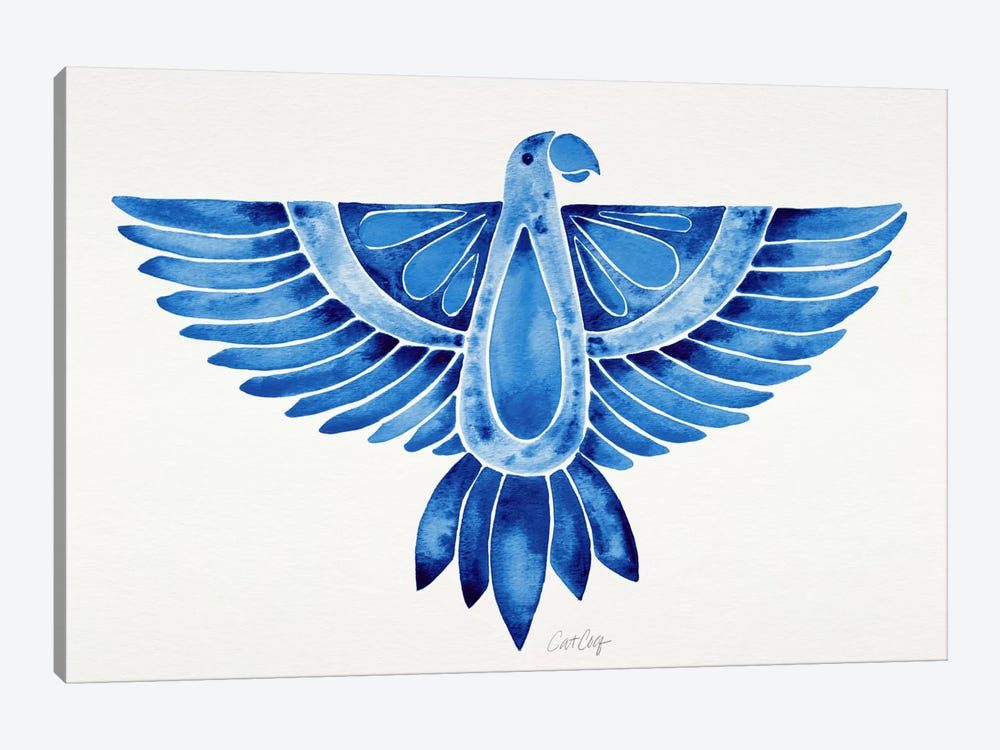 Parrot I by Cat Coquillette 1-piece Art Print