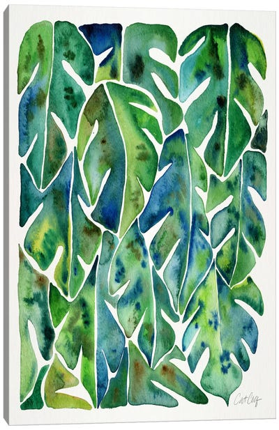 Philodendron I Canvas Art Print