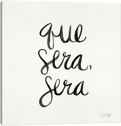 Que Sera Sera II Canvas Art Print