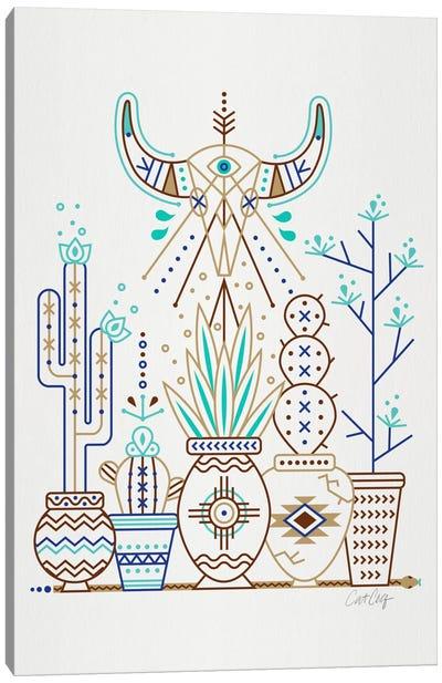 Santa Fe Garden I Canvas Print #CCE245