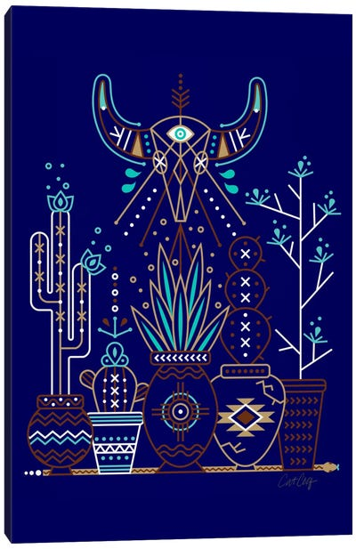 Santa Fe Garden II by Cat Coquillette Canvas Art Print