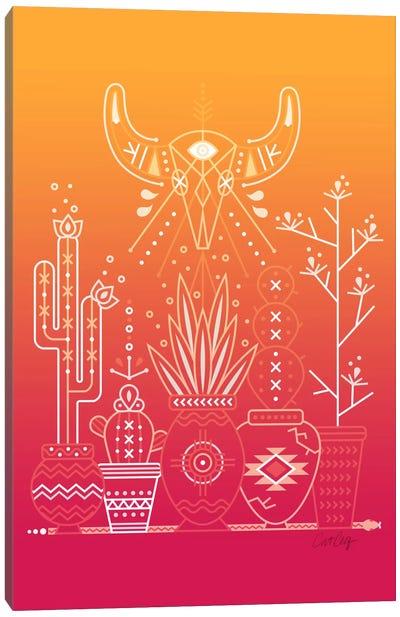 Santa Fe Garden III Canvas Print #CCE247