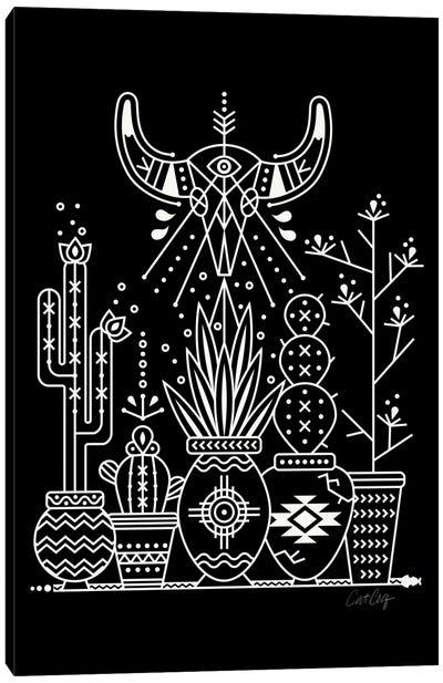 Santa Fe Garden VI Canvas Print #CCE250