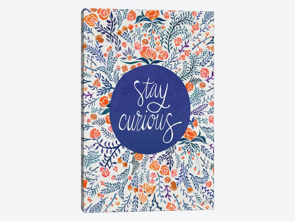 Stay Curious I by Cat Coquillette 1-piece Canvas Art Print