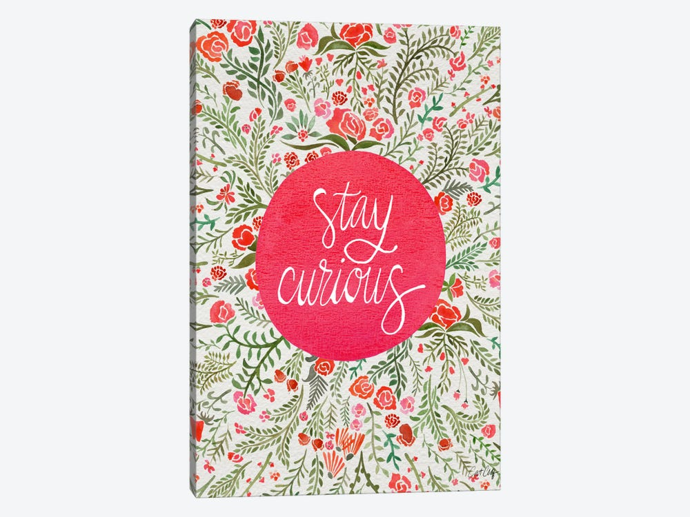 Stay Curious II by Cat Coquillette 1-piece Canvas Art