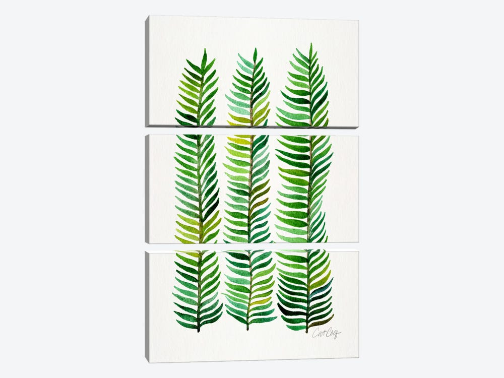Stem Trio II by Cat Coquillette 3-piece Canvas Wall Art
