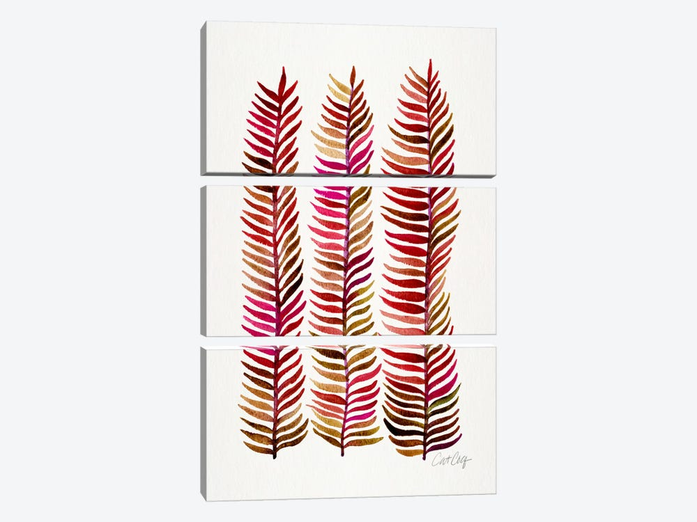 Stem Trio III by Cat Coquillette 3-piece Canvas Print