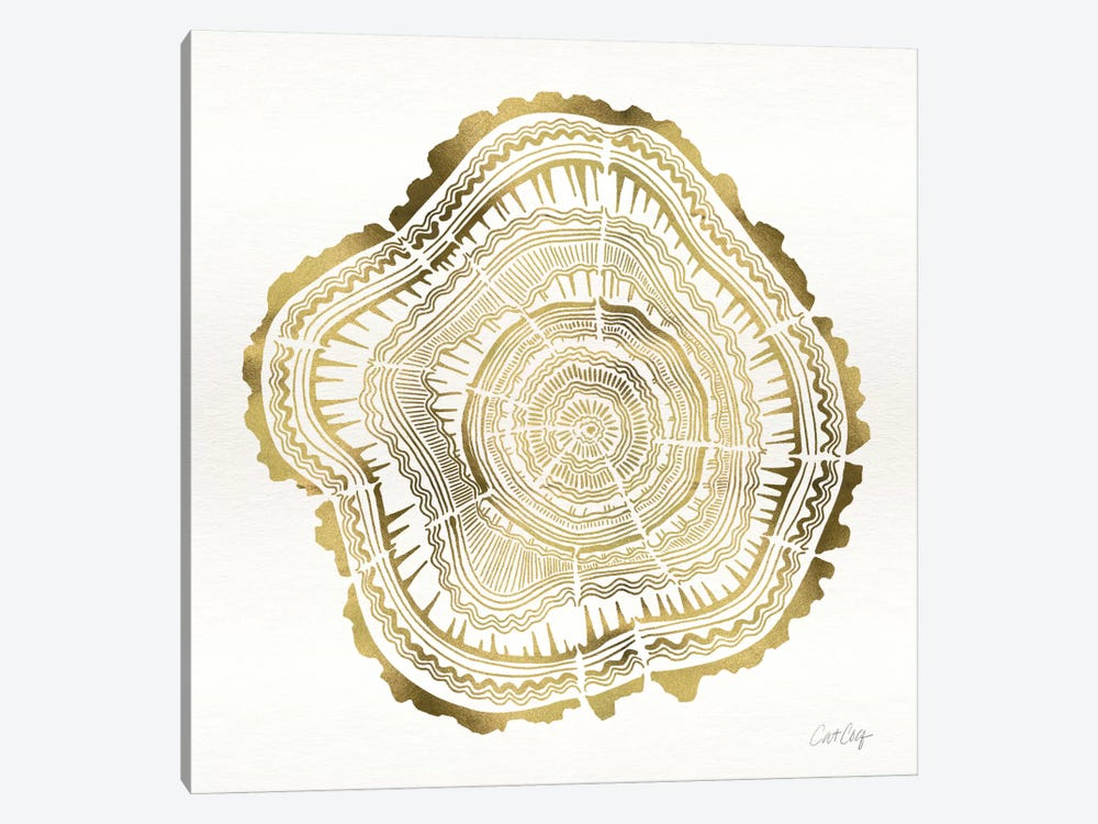 Tree Rings III by Cat Coquillette 1-piece Art Print