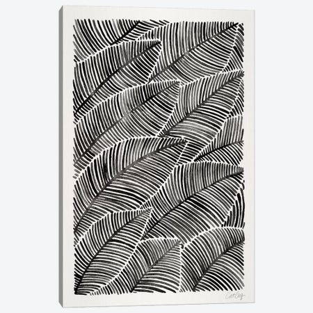 Tropical Leaves I Canvas Print #CCE265} by Cat Coquillette Canvas Wall Art