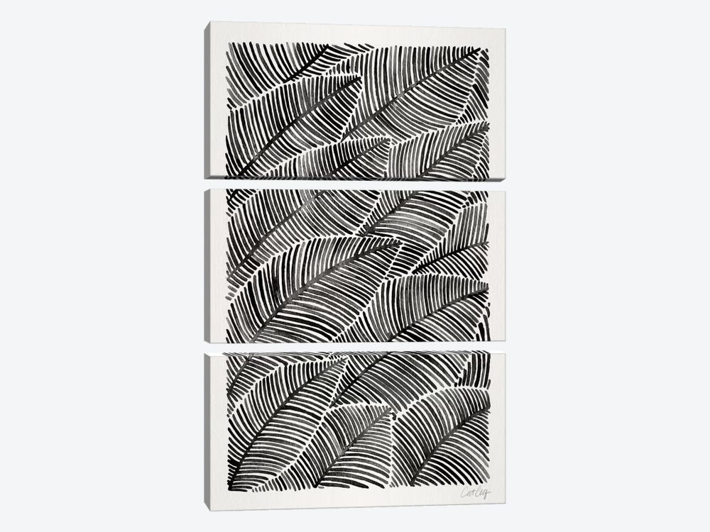 Tropical Leaves I by Cat Coquillette 3-piece Canvas Wall Art