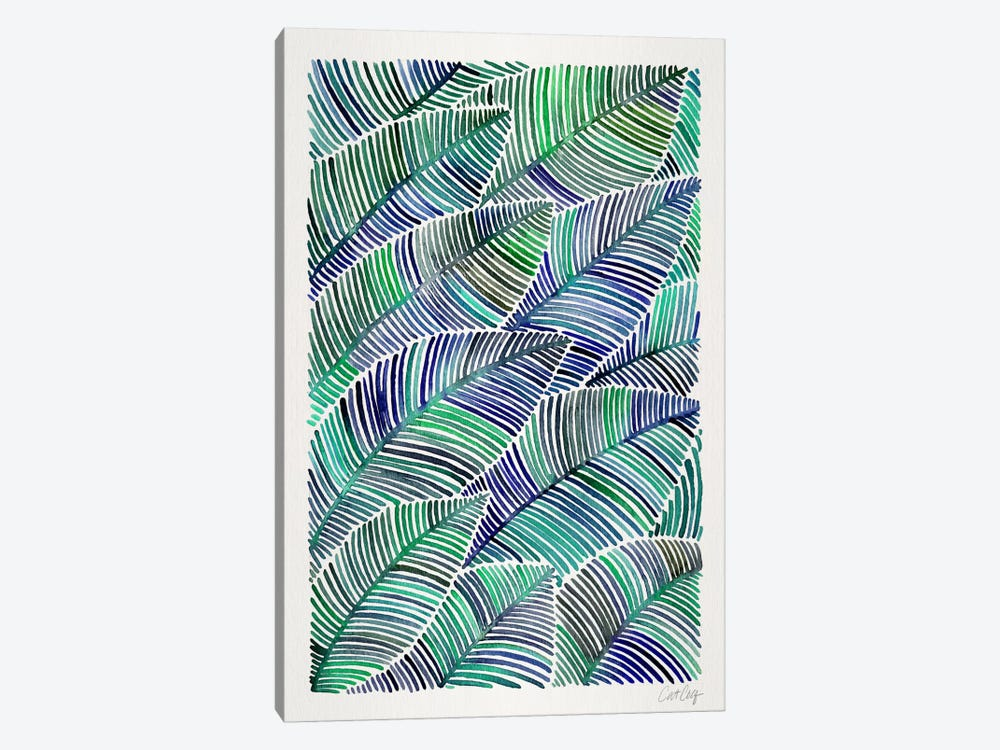 Tropical Leaves II by Cat Coquillette 1-piece Canvas Print