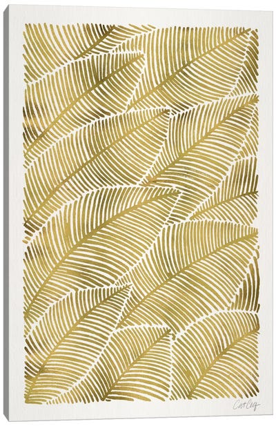 Tropical Leaves III Canvas Art Print