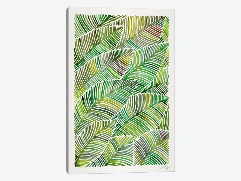 Tropical Leaves IV by Cat Coquillette 1-piece Canvas Art Print