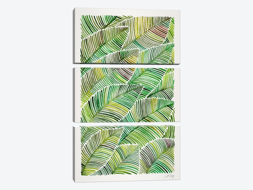Tropical Leaves IV 3-piece Art Print