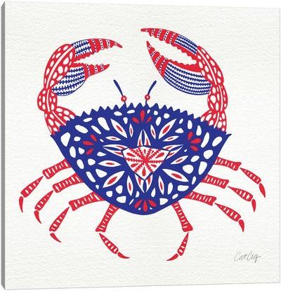 America Crab Artprint Canvas Print #CCE26