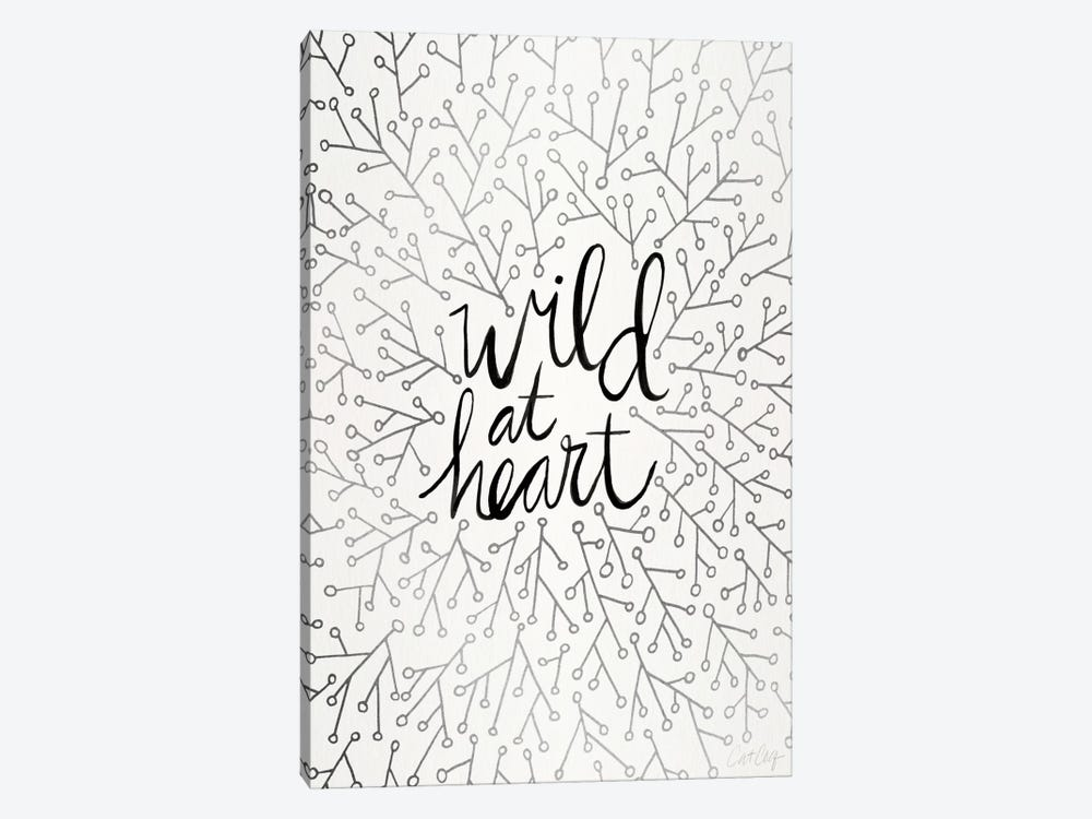 Wild At Heart II by Cat Coquillette 1-piece Canvas Artwork