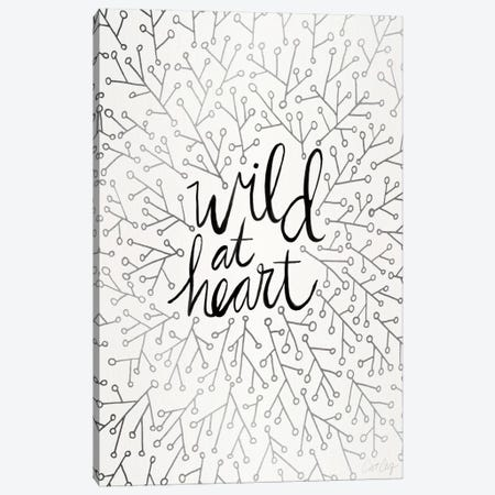 Wild At Heart II Canvas Print #CCE283} by Cat Coquillette Art Print