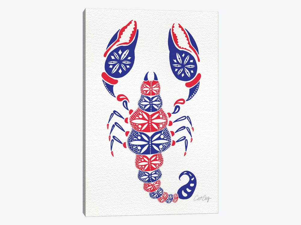 America Scorpion by Cat Coquillette 1-piece Canvas Art Print