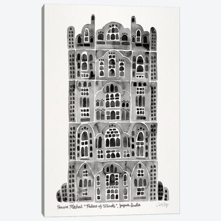 Black Hawa Mahal Canvas Print #CCE322} by Cat Coquillette Canvas Artwork