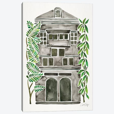 Black House Canvas Print #CCE323} by Cat Coquillette Canvas Art