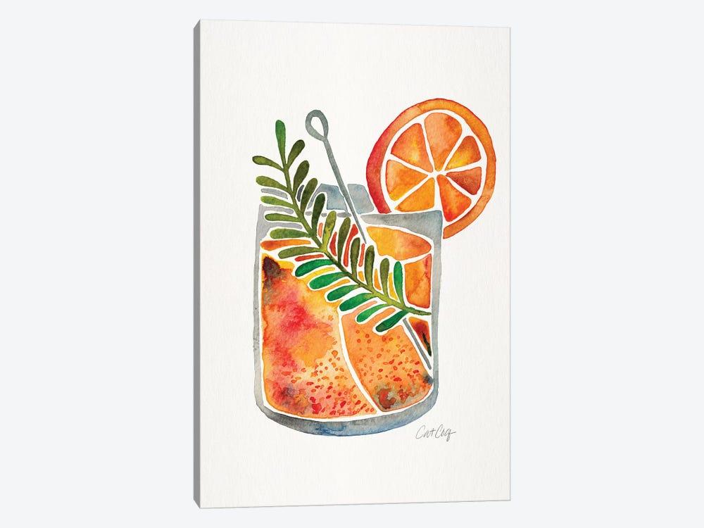 Blood Orange Tequila Sunrise by Cat Coquillette 1-piece Canvas Art Print