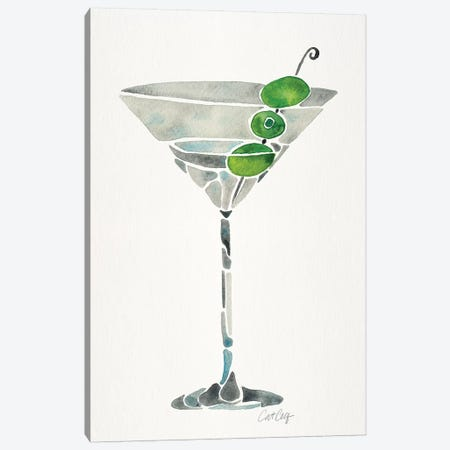 Dirty Martini Canvas Print #CCE358} by Cat Coquillette Canvas Print