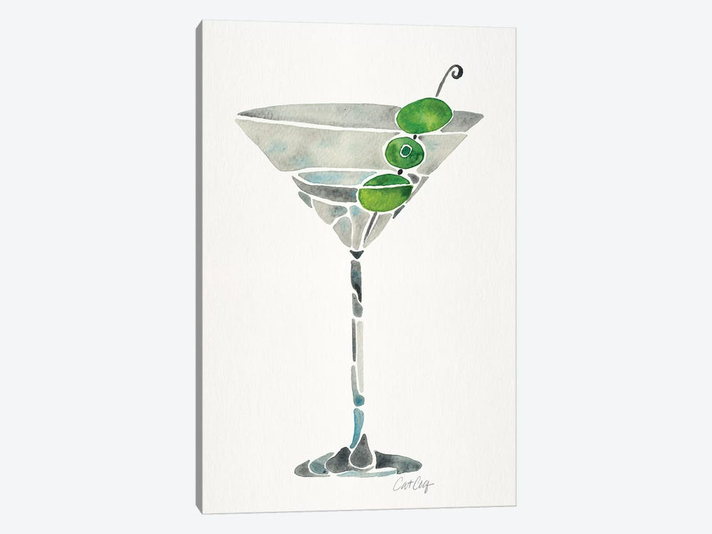 Dirty Martini by Cat Coquillette 1-piece Canvas Print