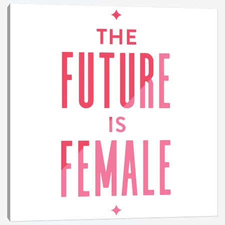 Future Female Apparel II Canvas Print #CCE362} by Cat Coquillette Canvas Art
