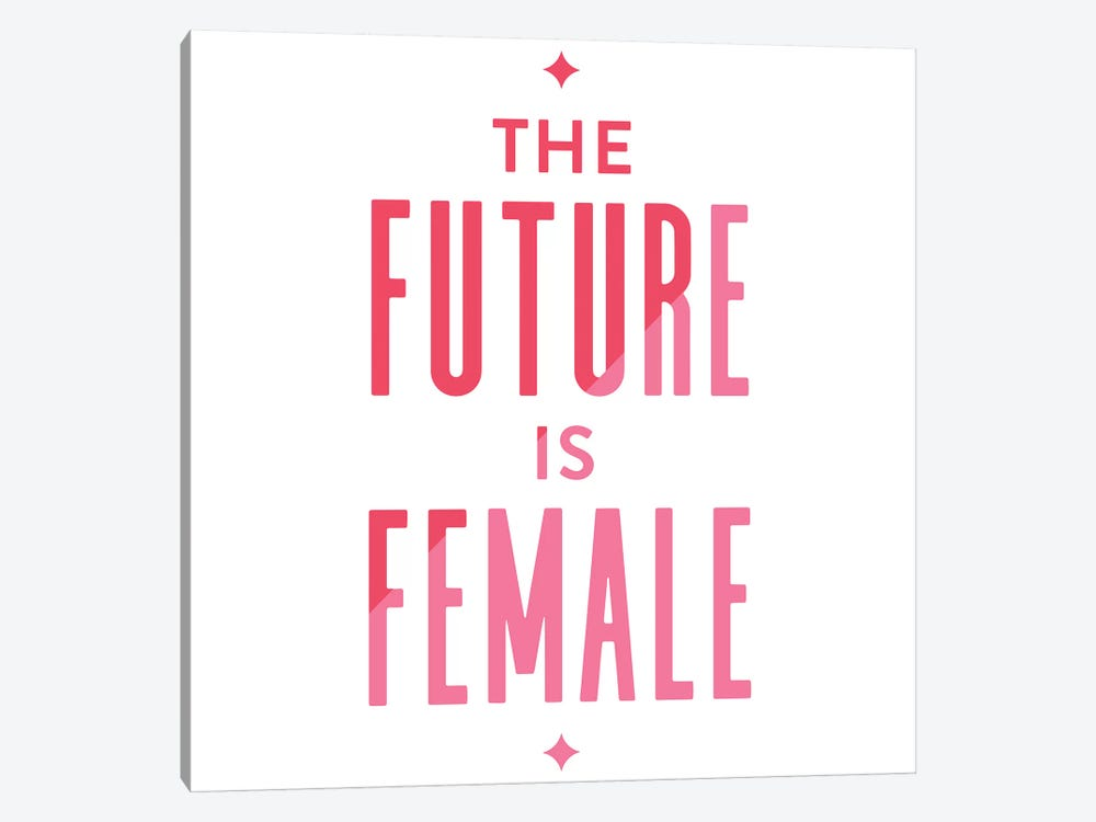 Future Female Apparel II by Cat Coquillette 1-piece Canvas Artwork