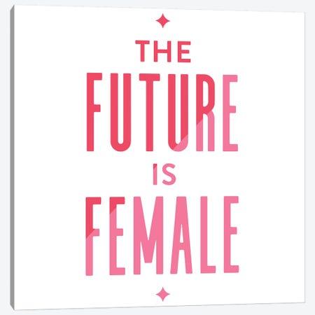 Future Female Apparel II Canvas Print #CCE362} by Cat Coquillette Canvas Art