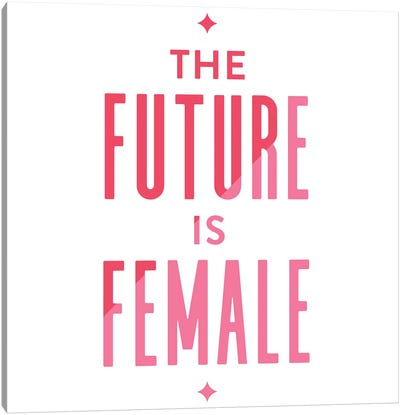 Future Female Apparel II Canvas Art Print