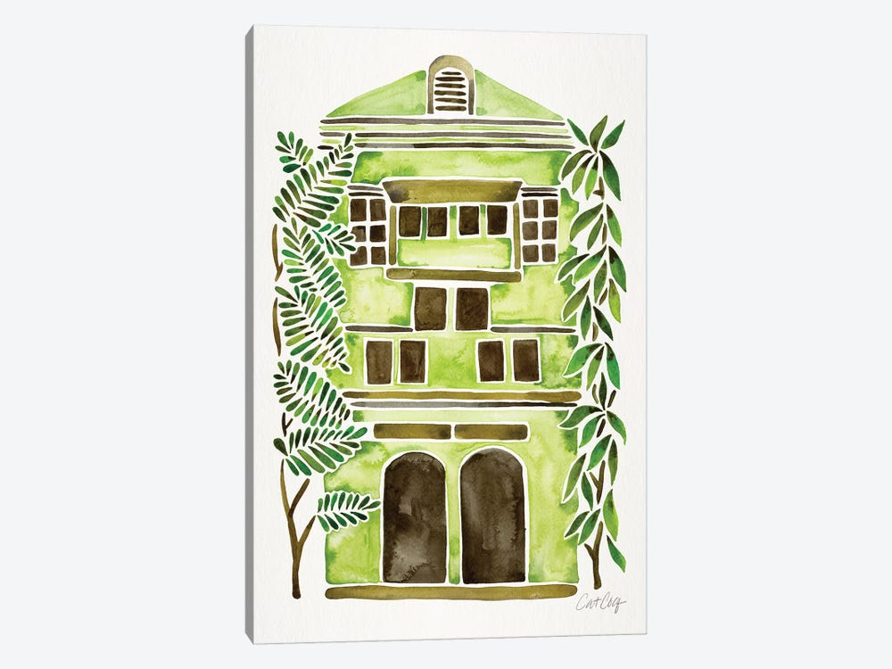 Lime House by Cat Coquillette 1-piece Canvas Wall Art