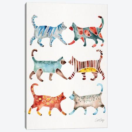 Original Cat Collection Canvas Print #CCE409} by Cat Coquillette Canvas Art Print