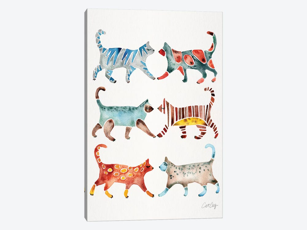Original Cat Collection by Cat Coquillette 1-piece Canvas Wall Art
