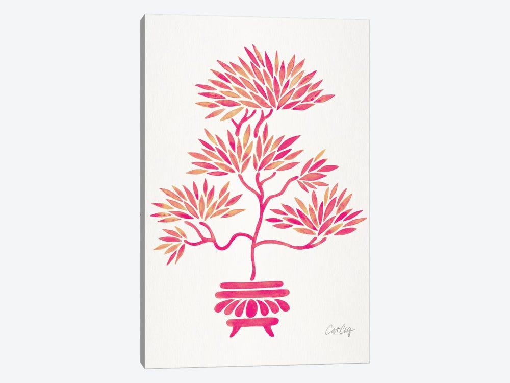 Pink Bonsai by Cat Coquillette 1-piece Canvas Artwork
