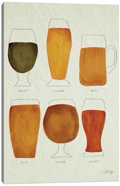 Beer Artprint Canvas Art Print