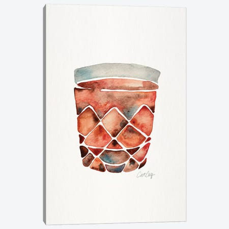 Scotch Tumbler Canvas Print #CCE436} by Cat Coquillette Art Print
