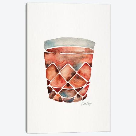 Scotch Tumbler Canvas Print #CCE436} by Cat Coquillette Art Print