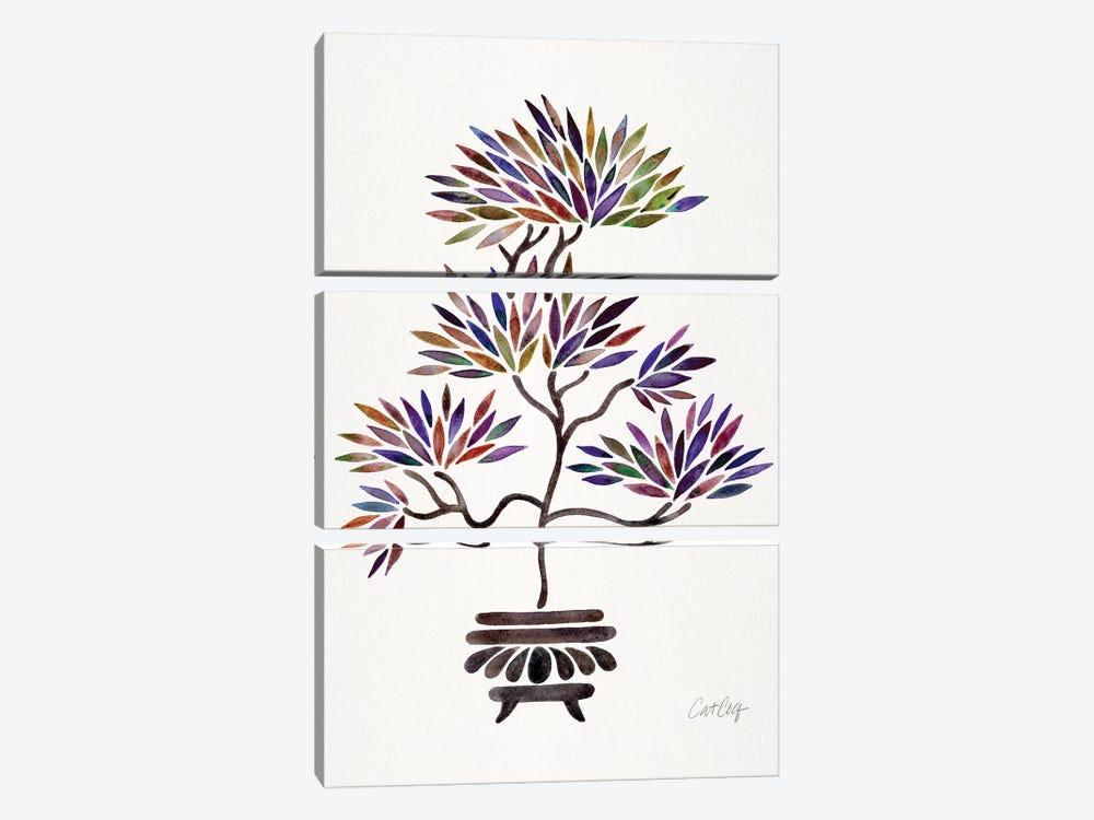 Vintage Bonsai by Cat Coquillette 3-piece Canvas Print