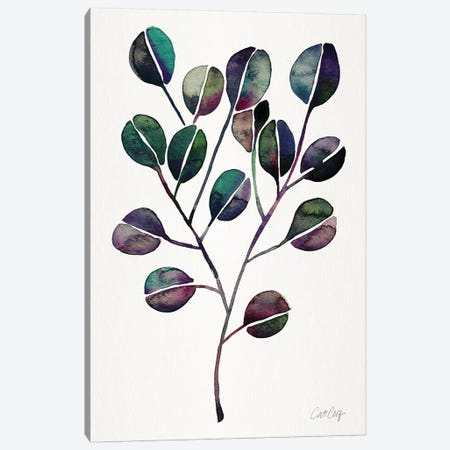Deep Cool - Eucalyptus 3-Piece Canvas #CCE459} by Cat Coquillette Canvas Artwork
