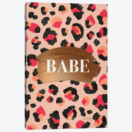 Hot Pink - Babe Canvas Print #CCE463} by Cat Coquillette Canvas Print