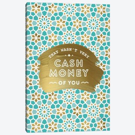 Mint Gold - Cash Money Canvas Print #CCE469} by Cat Coquillette Canvas Print