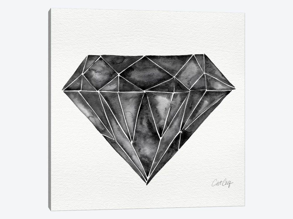 Black Diamond by Cat Coquillette 1-piece Canvas Art