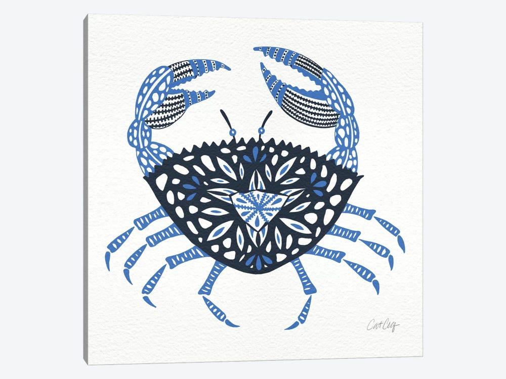 Blue Crab by Cat Coquillette 1-piece Canvas Art Print