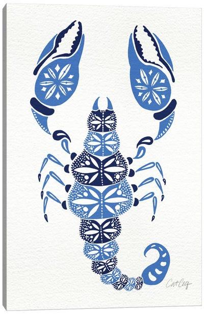 Blues Scorpion Canvas Art Print