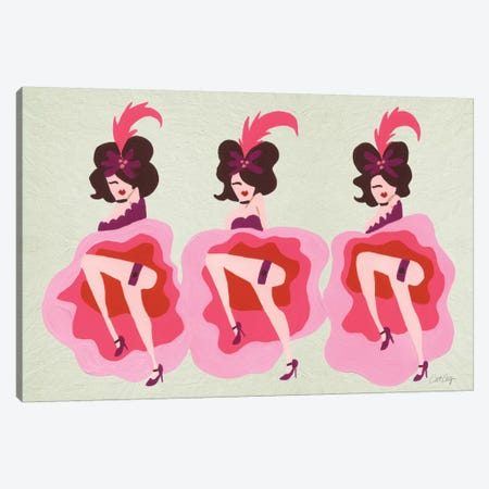 Cancan Cream Artprint Canvas Print #CCE95} by Cat Coquillette Canvas Wall Art