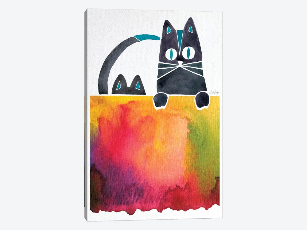 Cats Artprint by Cat Coquillette 1-piece Art Print