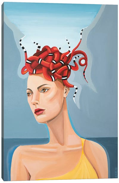 Kingston Medusa Canvas Art Print