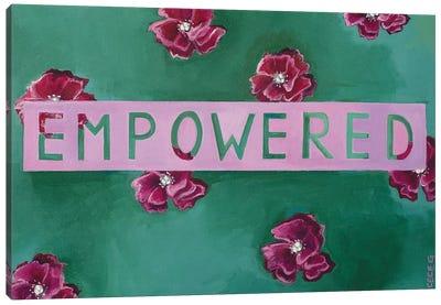 Empowered Canvas Art Print
