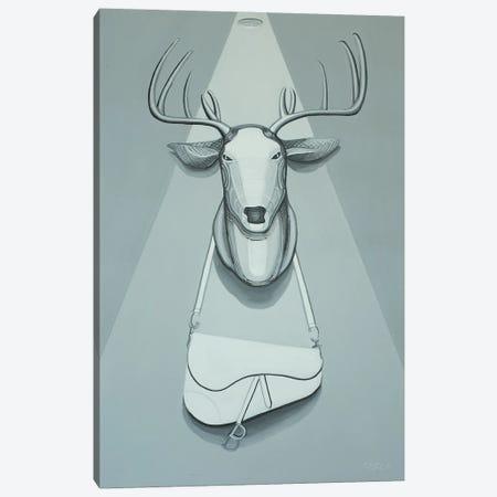 Taxidermy With Dior Saddle Bag Canvas Print #CCG51} by CeCe Guidi Canvas Print